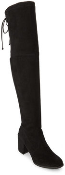 Unisa Black Derrick Over The Knee Boots