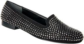 Ros Hommerson Black Octavia Leather Loafer - Women