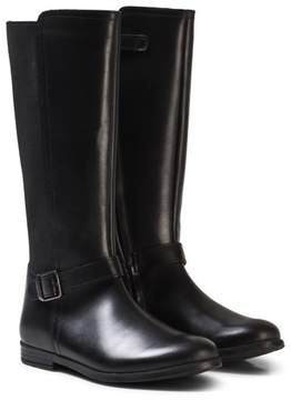 Start Rite Start-rite Black Leather Grace Tall Boots
