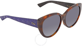 Christian Dior Grey Gradient Cat Eye Sunglasses LADY1/R/S 0GRS