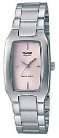 Casio Women's Classic Pink Dial Watch