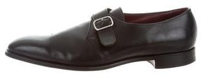 Ralph Lauren Leather Monk-Strap Oxfords