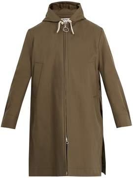 Acne Studios Melt cotton-twill coat
