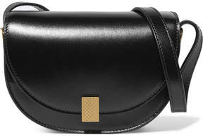 Victoria Beckham Half Moon Box Nano Leather Shoulder Bag - Black