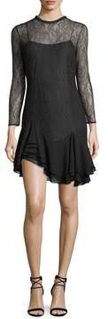 Camilla And Marc Plaza Lace-Up Mini Dress