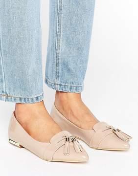 Miss KG Nikki Pointed Tassel Flat Shoes