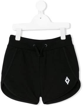 Marcelo Burlon County of Milan Kids logo embroidered shorts