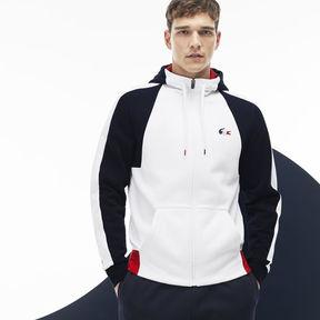 Lacoste Men's French Sporting Spirit Edition Colorblock Fleece Sweatshirt