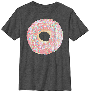 Fifth Sun Charcoal Heather Doughnut Tee - Youth