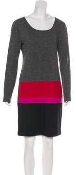 DKNY Long Sleeve Mini Dress