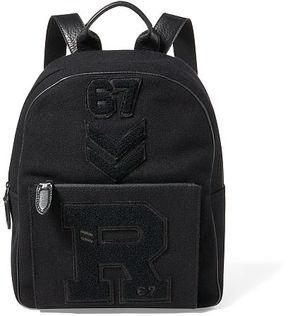 Ralph Lauren Patchwork Wool Piqu Backpack