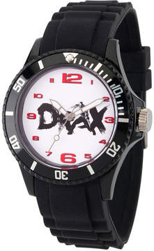 Marvel Guardian Of The Galaxy Mens Black Strap Watch-Wma000105