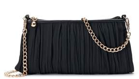 LC Lauren Conrad Lili Chiffon Pleated Clutch
