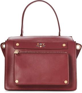 Zadig & Voltaire Garnet James Leather Satchel