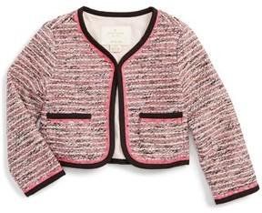 Kate Spade Girl's Tweed Jacket