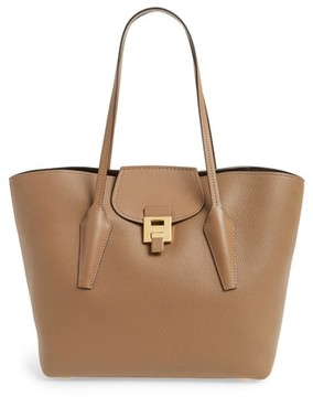 Michael Kors Large Bancroft Leather Tote - Brown - BROWN - STYLE
