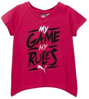 Puma My Game My Rules Sharbite Tee (Little Girls)