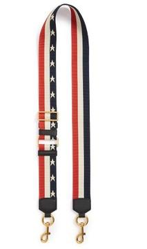 Marc Jacobs Stars & Stripes Guitar Bag Strap - Blue