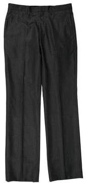 Calvin Klein Collection Flat Front Dress Pants