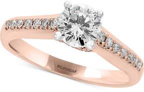 Effy Infinite Love Diamond Engagement Ring (1 ct. t.w.) in 18k Rose Gold