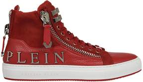 Philipp Plein Logo High-top Sneakers