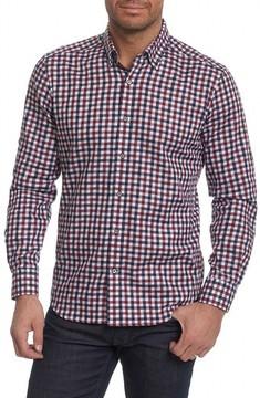 Robert Graham Men's Travis Tailored Fit Check Sport Shirt