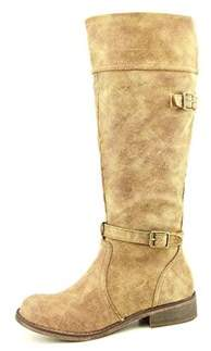 Material Girl Leroy Synthetic Mid Calf Boot.