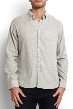 Grayers Chester Double Cloth Herringbone Button Down Shirt