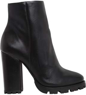 Schutz 100mm Leather Ankle Boots