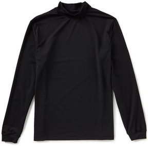 Roundtree & Yorke Performance Long-Sleeve Mockneck