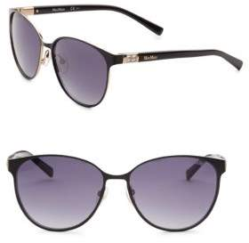Max Mara Diamond 59MM Butterfly Sunglasses