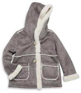 Hatley Toddler's, Little Girl's & Girl's Faux Sherpa Jacket