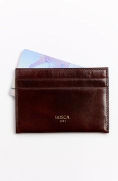 Bosca Men's 'Old Leather' Weekend Wallet - Brown