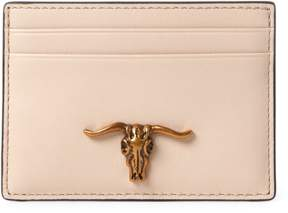 Polo Ralph Lauren Steer-Head Leather Card Case