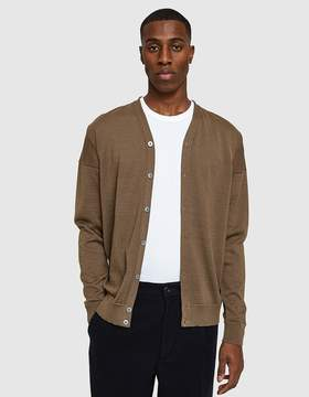 S.N.S. Herning Intro Cardigan in Tobacco Brown