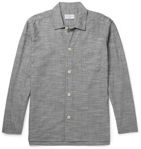 Oliver Spencer Loungewear Pinstriped Cotton Pyjama Shirt