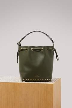 Valentino Rockstudj small bucket bag