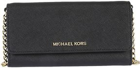 Michael Kors Jet Set Travel Wallet Shoulder Bag - BLACK - STYLE