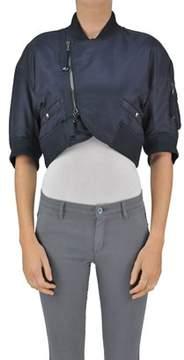 Diesel Black Gold Women's Blue Cotton Jacket.