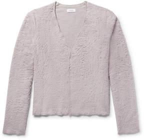 Fanmail Organic Cotton Sherpa Cardigan