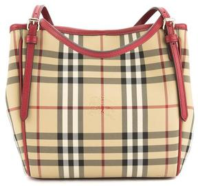 Burberry Parade Red Horseferry Check Small Canterbury Tote Bag - ONE COLOR - STYLE