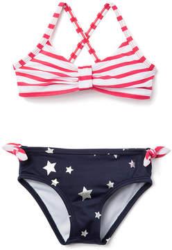Gymboree Red White & Blue Bikini Top & Bottoms - Infant, Toddler & Girls