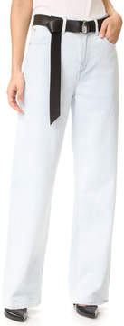 A Gold E AGOLDE Alana Oversized Straight Leg Jeans