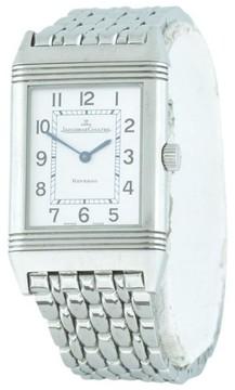 Jaeger-LeCoultre Jaeger LeCoultre Reverso Duetto 252.8.86 Stainless Steel 38.5mm Mens Watch