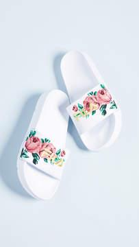 Fila Drifter Embroidery Slides