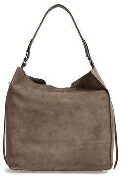AllSaints 'Paradise - North/south' Suede Tote - Grey