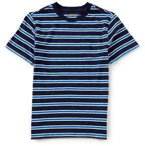 Ralph Lauren Big Boys 8-20 Short-Sleeve Striped Pocket T-Shirt