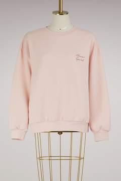 Mansur Gavriel Cotton logo sweatshirt