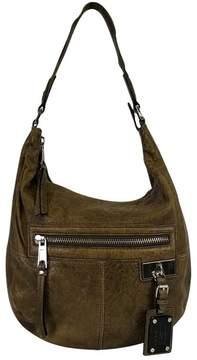L.A.M.B Olive Green Pebbled Bag