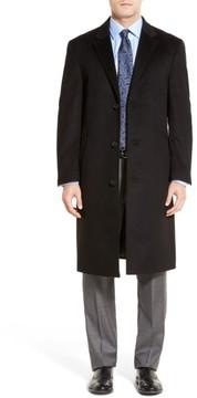 Hart Schaffner Marx Men's Sheffield Classic Fit Wool & Cashmere Overcoat